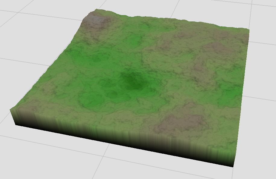 Basic Perlin terrain