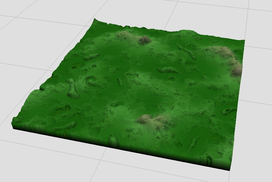 Highly modified Perlin Noise that we want to match