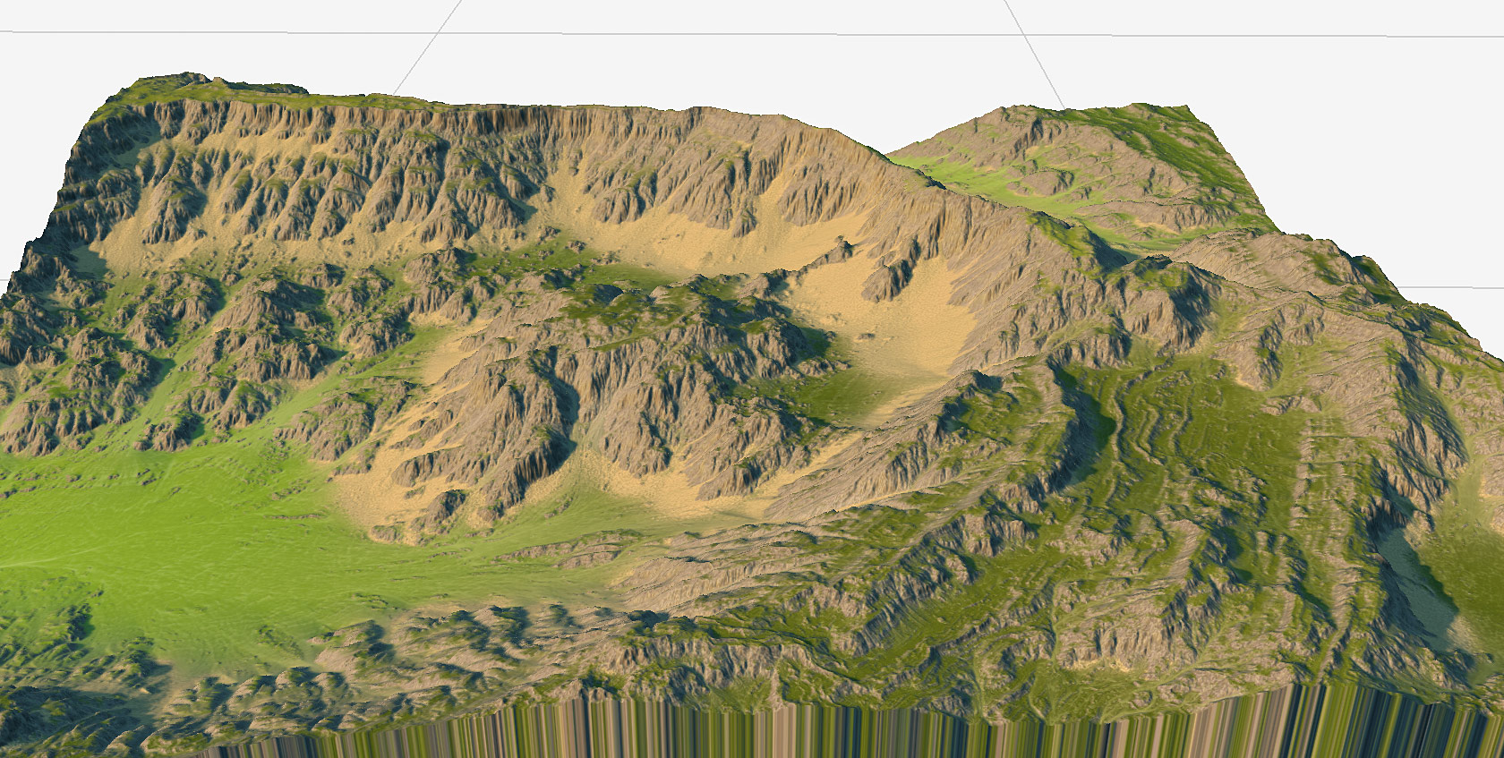 World Machine Features for Terrain Generation